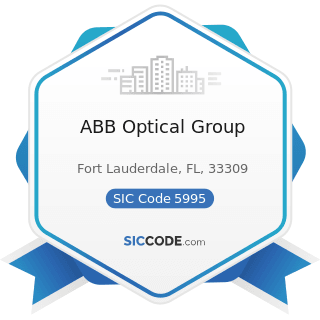ABB Optical Group - SIC Code 5995 - Optical Goods Stores
