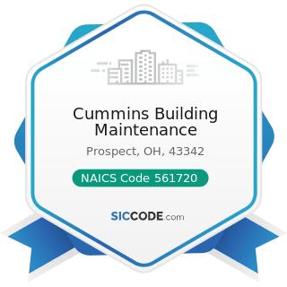 Cummins Building Maintenance - NAICS Code 561720 - Janitorial Services
