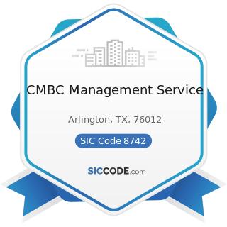 CMBC Management Service - SIC Code 8742 - Management Consulting Services