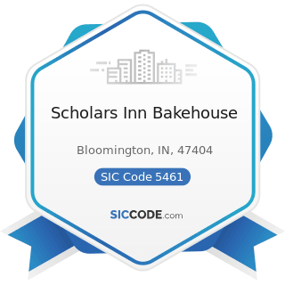 Scholars Inn Bakehouse - SIC Code 5461 - Retail Bakeries