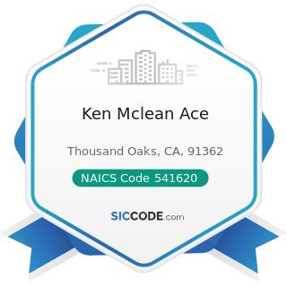 Ken Mclean Ace - NAICS Code 541620 - Environmental Consulting Services