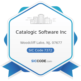 Catalogic Software Inc - SIC Code 7372 - Prepackaged Software