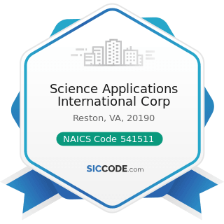 Science Applications International Corp - NAICS Code 541511 - Custom Computer Programming...