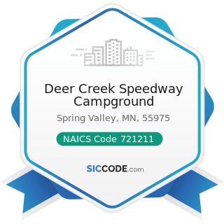 Deer Creek Speedway Campground - NAICS Code 721211 - RV (Recreational Vehicle) Parks and...