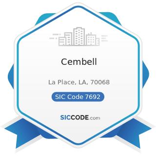 Cembell - SIC Code 7692 - Welding Repair