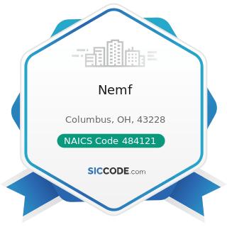 Nemf - NAICS Code 484121 - General Freight Trucking, Long-Distance, Truckload