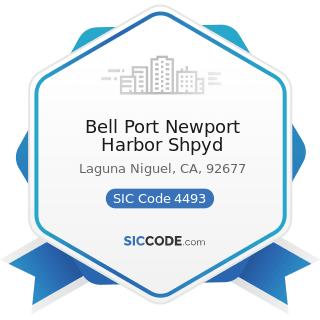 Bell Port Newport Harbor Shpyd - SIC Code 4493 - Marinas