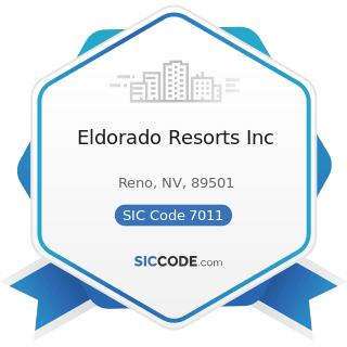 Eldorado Resorts Inc - SIC Code 7011 - Hotels and Motels