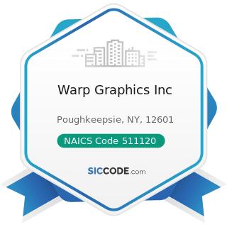 Warp Graphics Inc - NAICS Code 511120 - Periodical Publishers