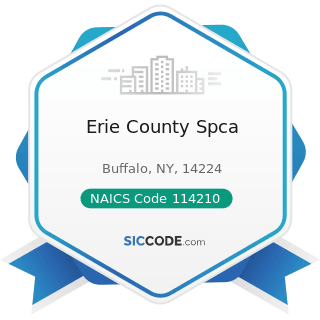 Erie County Spca - NAICS Code 114210 - Hunting and Trapping