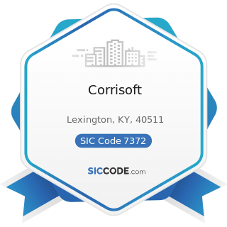 Corrisoft - SIC Code 7372 - Prepackaged Software