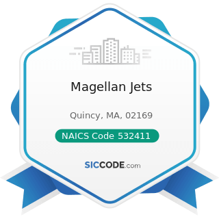 Magellan Jets - NAICS Code 532411 - Commercial Air, Rail, and Water Transportation Equipment...