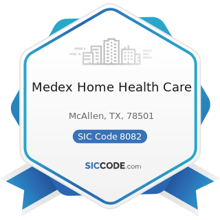 Medex Home Health Care - SIC Code 8082 - Home Health Care Services