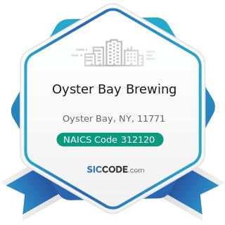 Oyster Bay Brewing - NAICS Code 312120 - Breweries
