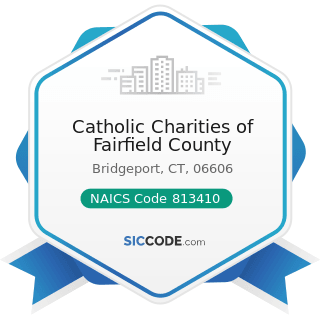 Catholic Charities of Fairfield County - NAICS Code 813410 - Civic and Social Organizations