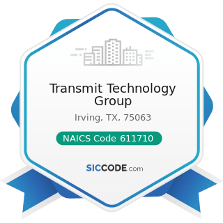Transmit Technology Group - NAICS Code 611710 - Educational Support Services