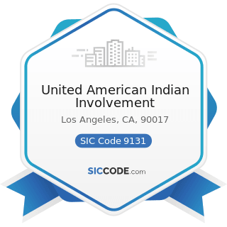 United American Indian Involvement - SIC Code 9131 - Executive and Legislative Offices Combined