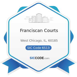 Franciscan Courts - SIC Code 6513 - Operators of Apartment Buildings