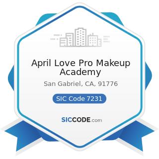 April Love Pro Makeup Academy - SIC Code 7231 - Beauty Shops