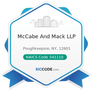 McCabe And Mack LLP - NAICS Code 541110 - Offices of Lawyers