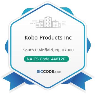 Kobo Products Inc - NAICS Code 446120 - Cosmetics, Beauty Supplies, and Perfume Stores