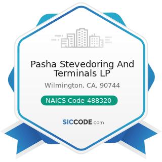Pasha Stevedoring And Terminals LP - NAICS Code 488320 - Marine Cargo Handling