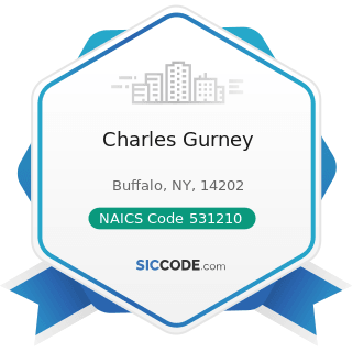 Charles Gurney - NAICS Code 531210 - Offices of Real Estate Agents and Brokers