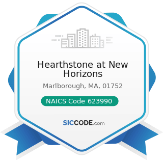 Hearthstone at New Horizons - NAICS Code 623990 - Other Residential Care Facilities