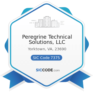Peregrine Technical Solutions, LLC - SIC Code 7375 - Information Retrieval Services