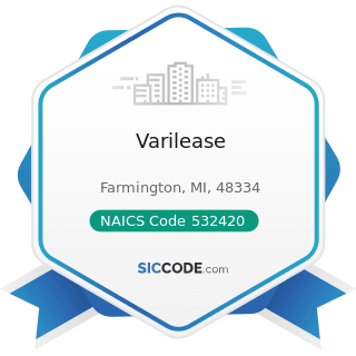Varilease - NAICS Code 532420 - Office Machinery and Equipment Rental and Leasing