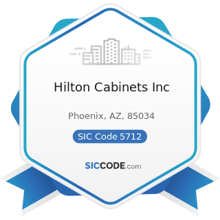 Hilton Cabinets Inc - SIC Code 5712 - Furniture Stores