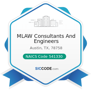 MLAW Consultants And Engineers - NAICS Code 541330 - Engineering Services