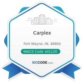 Carplex - NAICS Code 441120 - Used Car Dealers