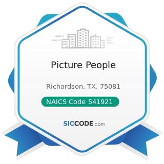 Picture People - NAICS Code 541921 - Photography Studios, Portrait