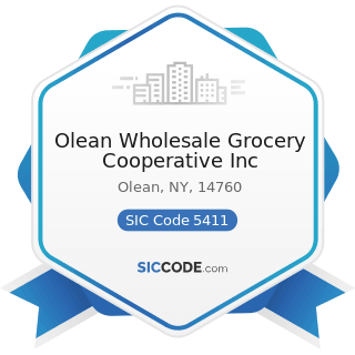 Olean Wholesale Grocery Cooperative Inc - SIC Code 5411 - Grocery Stores