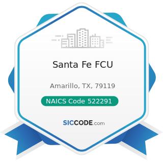 Santa Fe FCU - NAICS Code 522291 - Consumer Lending