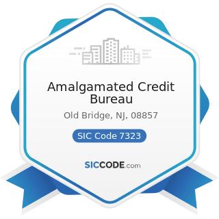 Amalgamated Credit Bureau - SIC Code 7323 - Credit Reporting Services