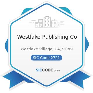 Westlake Publishing Co - SIC Code 2721 - Periodicals: Publishing, or Publishing and Printing