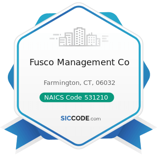 Fusco Management Co - NAICS Code 531210 - Offices of Real Estate Agents and Brokers