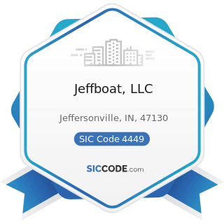 Jeffboat, LLC - SIC Code 4449 - Water Transportation of Freight, Not Elsewhere Classified