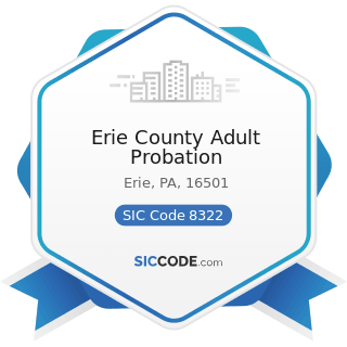 Erie County Adult Probation - SIC Code 8322 - Individual and Family Social Services