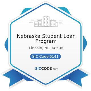 Nebraska Student Loan Program - SIC Code 6141 - Personal Credit Institutions