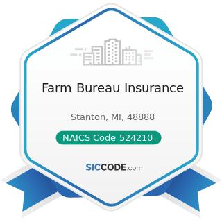 Farm Bureau Insurance - NAICS Code 524210 - Insurance Agencies and Brokerages
