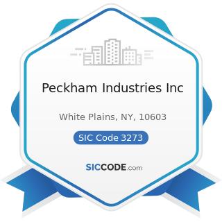 Peckham Industries Inc - SIC Code 3273 - Ready-Mixed Concrete