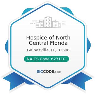 Hospice of North Central Florida - NAICS Code 623110 - Nursing Care Facilities (Skilled Nursing...