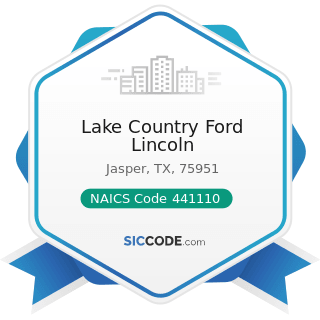 Lake Country Ford Lincoln - NAICS Code 441110 - New Car Dealers