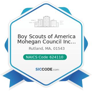 Boy Scouts of America Mohegan Council Inc Treasure Valley S - NAICS Code 624110 - Child and...