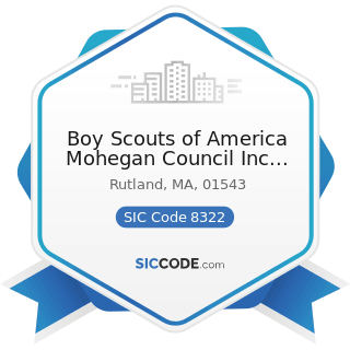 Boy Scouts of America Mohegan Council Inc Treasure Valley S - SIC Code 8322 - Individual and...